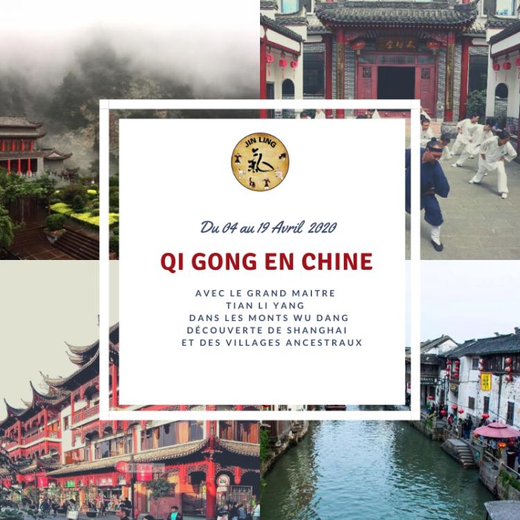 Voyage d'études aux sources du Qi Gong en Chine du 04 au 19 Avril 2020