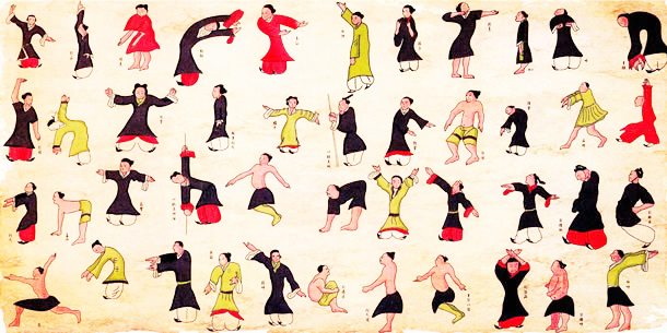 Qi Gong six sons thérapeutique en ligne