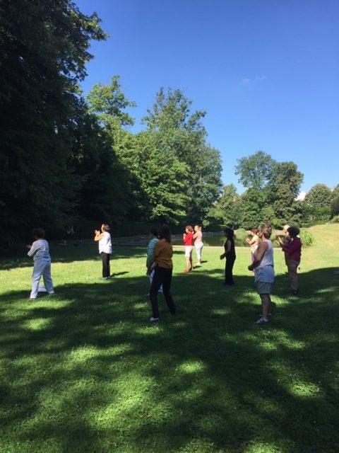 Reprise des cours de Qi Gong à Sceaux