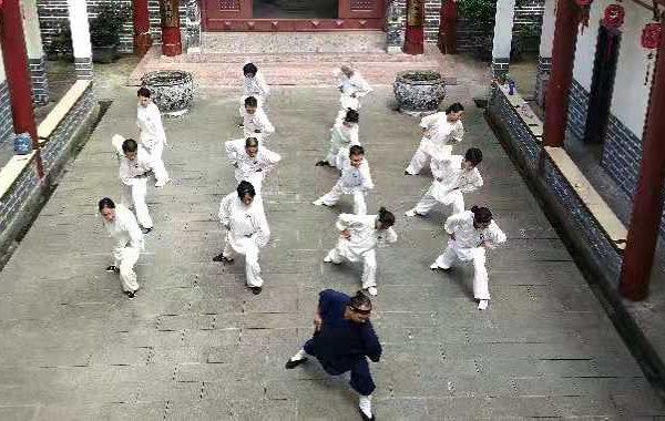 Qi Gong à Mont Wudang_Tian Li Yang - Tian liyang - Chine