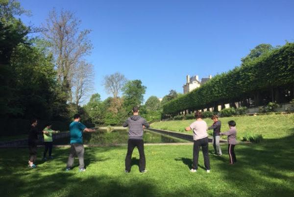 cours de qi gong sceaux en plein air